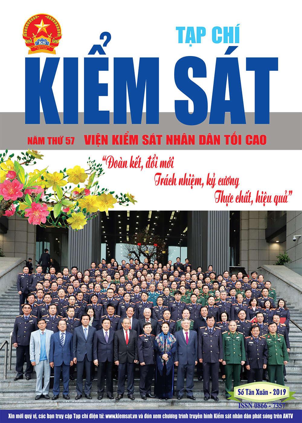 Giới thiệu Tạp chí Kiểm sát số Tân Xuân năm 2019
