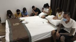 """Bất chấp dịch bệnh, 07 nam nữ thanh niên thuê khách sạn mở """"tiệc ma túy"""""""